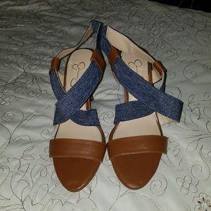 NWOT Jessica Simpson sandal heels